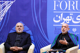 Tehran Dialogue Forum 2020 takes place in the presence of Iranian Foreign Minister Mohammad Javad Zarif, Tehran, Iran, January 7, 2020.