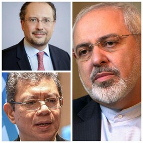 FM Zarif holds talks with Austrian, Malaysian counterparts