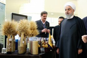 Conference for Praising Top National Examples of Agriculture held in Tehran