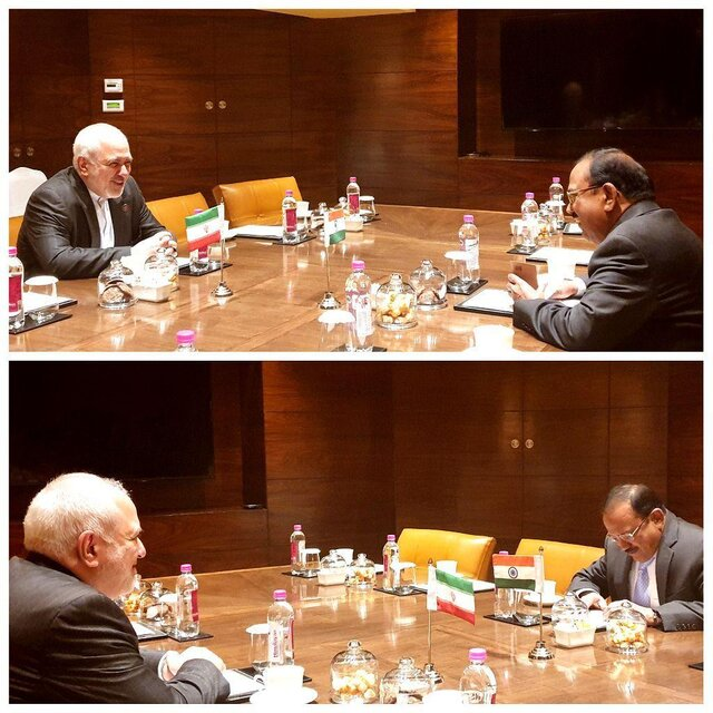 Iran's FM holds private talks with India's National Security Advisor