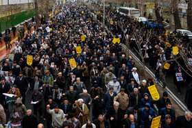 Demonstration of 'Resistance against the U.S.' held in cities of Iran