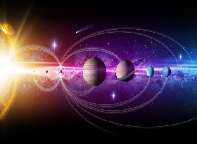 """Describing space above atmosphere by common language of """"cosmic song"""""""