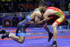 The 40th edition of Takhti International Greco-Roman Wrestling Cup, Shiraz, Iran, January 23, 2020.