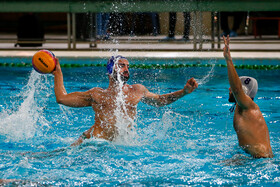 The first round of play-offs in Iran's water polo pro league between Perspolis Tehran and Pishgaman Yazd, Tehran, Iran, January 24, 2020.