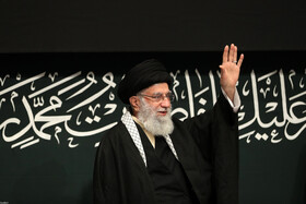 Iran's Leader attends first mourning ceremony on martyrdom of Hazrat Zahra