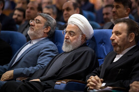 Iranian President Hassan Rouhani attends the convention of governors-general and governors across the country, Tehran, Iran, January 27, 2020.