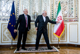 FM Zarif meets with EU foreign policy chief in Tehran