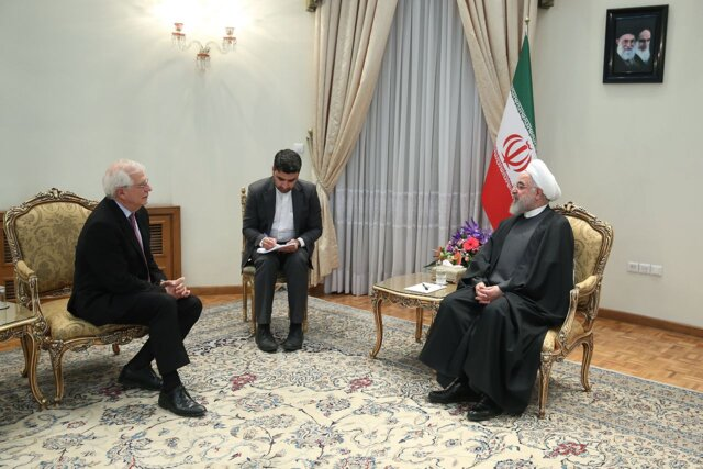 Iran still ready to cooperate with EU to settle issues: President Rouhani