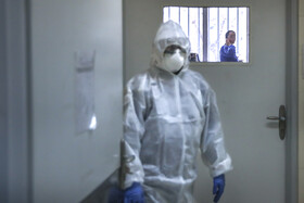 Quarantine center for suspected coronavirus cases in Tehran