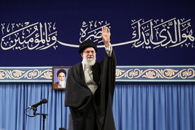 Iran's Supreme Leader Ayatollah Ali Khamenei meets with thousands of people from various groups, Tehran, Iran, February 5, 2020.