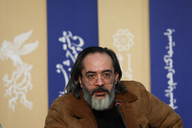 Iranian songwriter Karen Homayounfar is present on the fifth day of the of the 38th Fajr Film Festival, Tehran, Iran, February 5, 2020.