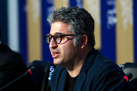 """The film crew of """"Slaughterhouse"""" is present in a press conference on the sixth day of the 38th Fajr Film Festival, Tehran, Iran, February 6, 2020."""