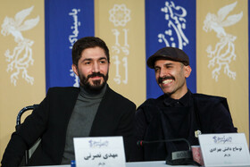 "The film crew of ""The Under Cover"" is present in the press conference of the 38th Fajr Film Festival, Tehran, Iran, February 7, 2020."