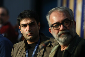 "The film crew of ""Enemies"" is present in a press conference on the ninth day of the 38th Fajr Film Festival, Tehran, Iran, February 9, 2020."