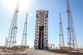 Iran's newest homegrown satellite, dubbed Zafar, is launched with Simorgh satellite carrier, Iran, February 9, 2020.