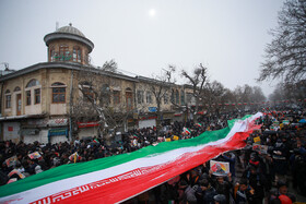 Iranians mark the 41st anniversary of the Islamic Revolution's victory, Hamedan, Iran, February 11, 2020.