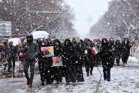 Iranians mark the 41st anniversary of the Islamic Revolution's victory, Tabriz, Iran, February 11, 2020.