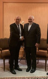 Iranian, French FMs confer on JCPOA