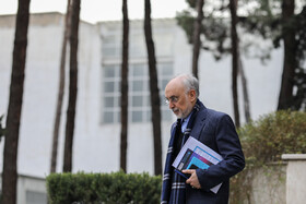 Head of Iran's Atomic Energy Organization Ali Akbar Salehi is seen on the sidelines of the weekly session of Iran's cabinet members, Tehran, Iran, February 19, 2020.
