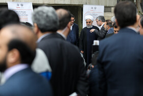 On the sidelines of the weekly session of Iran's cabinet members, Tehran, Iran, February 19, 2020.