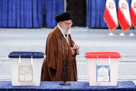 Iran's Leader casts vote in parliamentary, Assembly of Experts elections