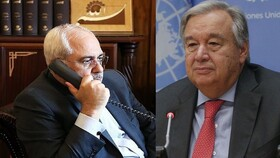 Iran's FM, UN Secretary-General discuss Afghanistan