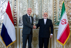 Iran, Dutch FMs meet in Tehran