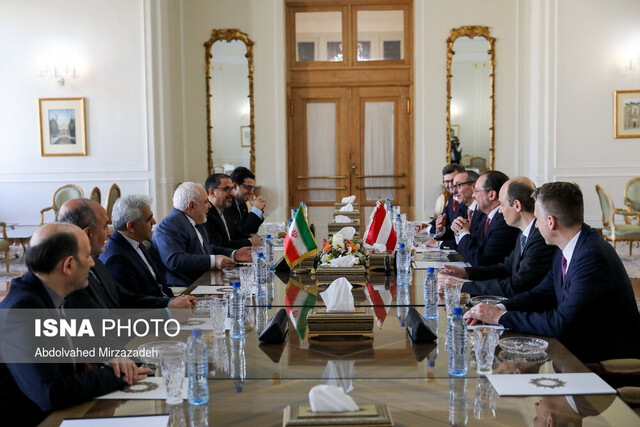 Austrian, Iranian FMs discuss JCPOA