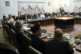 "The session of the ""National department of fighting against the new coronavirus"" is held under the chair of Iranian President Hassan Rouhani, Tehran, Iran, February 25, 2020."