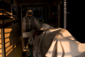 Medical teams make a great effort to cure the cases of the coronavirus, Tehran, Iran, March 1, 2020.