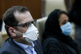 The meeting between WHO representatives and Iranian officials about the new coronavirus, Tehran, Iran, March 7, 2020.