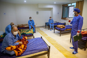 The convalescent home for the new coronavirus cases, Qom, Iran, March 9, 2020.