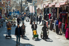 Tehran Grand Bazaar is seen amid fears over the new coronavirus, Tehran, Iran, March 11, 2020. Going outside can give the virus a chance for more outbreak.