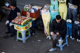 Tehran Grand Bazaar is seen amid fears over the new coronavirus, Tehran, Iran, March 11, 2020. Many jobs have been badly affected by the coronavirus outbreak.