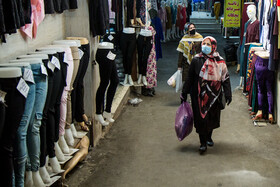 Tehran Grand Bazaar is seen amid fears over the new coronavirus, Tehran, Iran, March 11, 2020. It has been recommended that people shop online to curb the spread of the coronavirus.