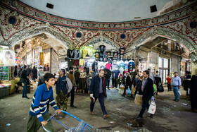 Tehran Grand Bazaar is seen amid fears over the new coronavirus, Tehran, Iran, March 11, 2020. Despite the recommendations of Iran's Health Ministry for staying at home, some people still go outside.