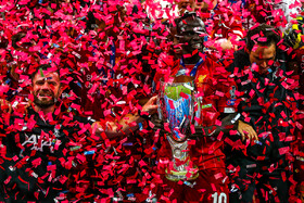 Liverpool FC claims 2019 UEFA Super Cup, Istanbul, Turkey, August 14, 2019. Liverpool FC and Chelsea FC, the two strong football clubs of Premier League, drew one-one at the end of 90 minutes. During the extra times, both football teams scored one goal and the game finished with a two-two draw. Finally, Liverpool FC edged Chelsea on penalties to claim the UEFA Super Cup for a fourth time.