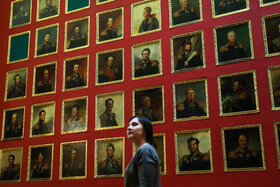 Artworks of the State Hermitage Museum is seen in the photo, Saint Petersburg, Russia, July 10, 2019. The museum features artworks of well-known artists such as Michelangelo, Leonardo da Vinci, Peter Paul Rubens, Anthony van Dyck, Rembrandt, Auguste Rodin, Claude Monet, Paul Cézanne, Vincent van Gogh, Paul Gauguin and Pablo Picasso.
