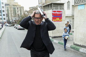 The former head coach of Persepolis FC, Branko Ivanković, is seen after attending a press conference, Tehran, Iran, March 29, 2019.