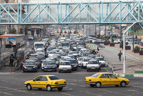 Tehran without traffic schemes
