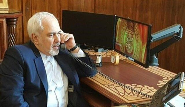 Iranian, Iraqi foreign ministers hold phone talks