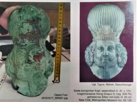 Smuggled Iranian antiquities to return home from Austria