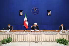 Session of Iran's cabinet ministers held in Tehran