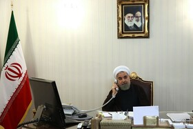 President Rouhani says Iran welcomes Iraq's playing leading role in sensitive situation of region