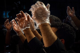 Iranians hold the first 'Laylat al-Qadr' ceremony of Ramadan Month, Babol, Iran, May 12, 2020. Muslims believe that on this night the blessings and mercy of God are abundant, sins are forgiven and supplications are accepted.
