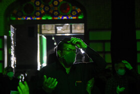 Iranians hold the second 'Laylat al-Qadr' ceremony of Ramadan Month, Semnan, Iran, May 14, 2020.