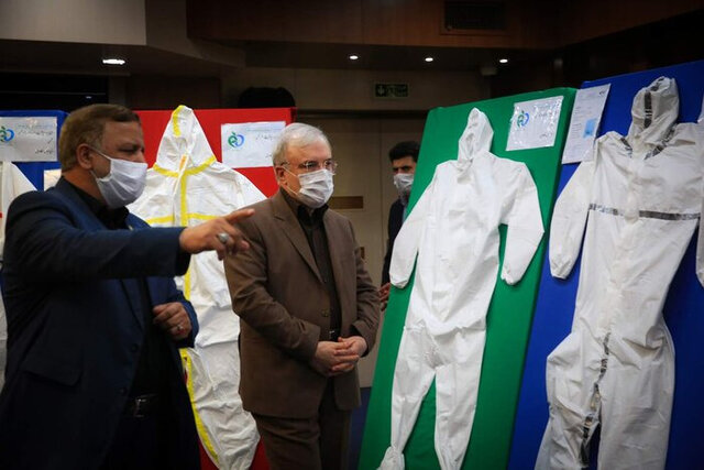 Iran unveils advanced protective suit for medical personnel