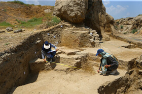 New archaeological exploration of Hagmatana Hill, Hamedan, Iran, May 19, 2020. The ancient Hagmatana Hill located in Hamedan Province is over 40 hectares in extent and is Iran's vastest ancient hill.