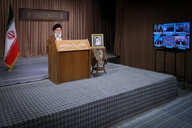 "The ""virus of Zionism"" to be eliminated: Iran's Supreme Leader"