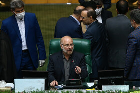The second public session of Iran's new Parliament, Tehran, Iran, May 28, 2020.